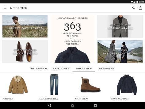 MR PORTER | Luxury Men's Fashion screenshot 5