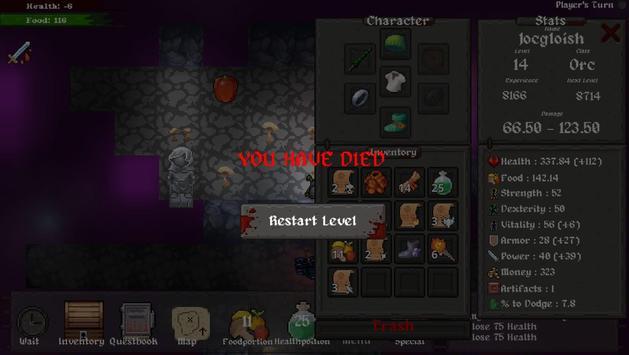 Master of Rogues - The Seven Artifacts (roguelike) ảnh chụp màn hình 14