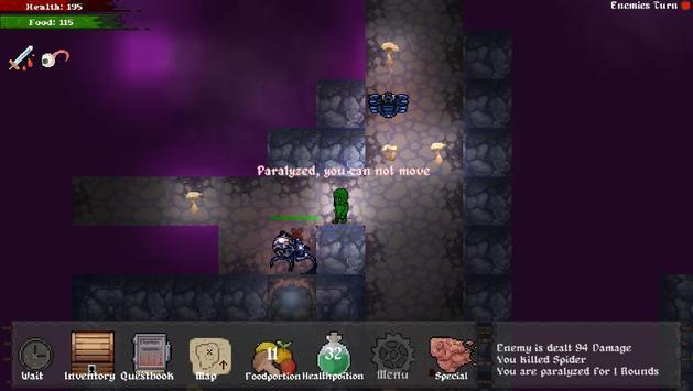 Master of Rogues - The Seven Artifacts (roguelike) ảnh chụp màn hình 6