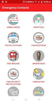 Security Shop Emergency Contacts screenshot 1