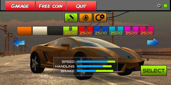 Arcade Car Racer - 2021 screenshot 2
