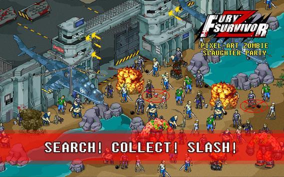 Fury Survivor: Pixel Z imagem de tela 7