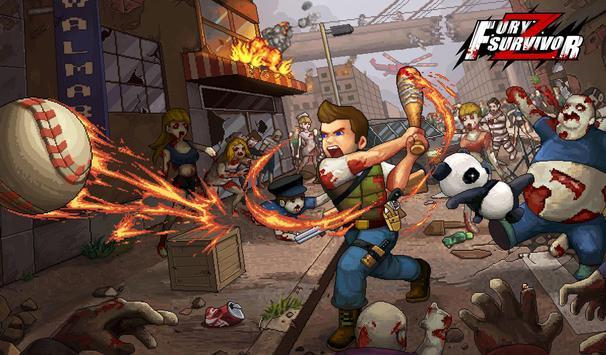 Fury Survivor: Pixel Z Cartaz