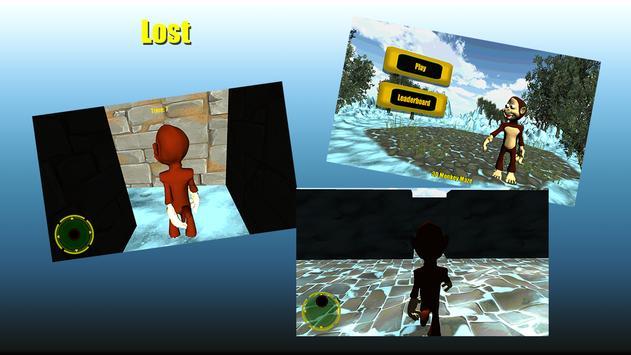 3D Monkey Maze screenshot 2