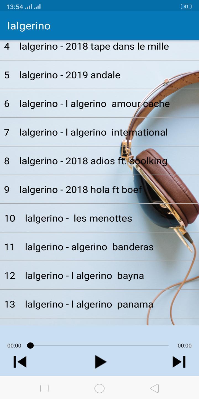GRATUIT ALGERINO ANDALE TÉLÉCHARGER MUSIC