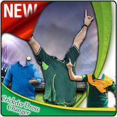 Cricketer Dress Changer icon