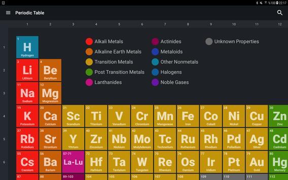 Periodic Table syot layar 9