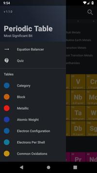 Periodic Table syot layar 3