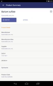SDS / Chemical Management screenshot 12