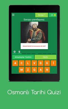 Osmanlı Tarihi Quizi screenshot 17