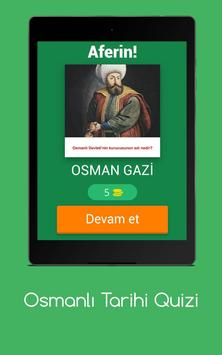 Osmanlı Tarihi Quizi screenshot 10