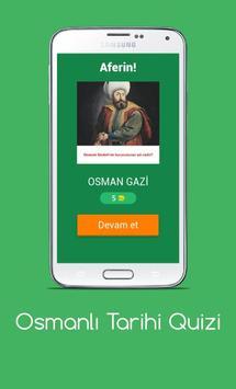 Osmanlı Tarihi Quizi screenshot 4
