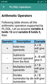 PL/SQL Learning screenshot 4