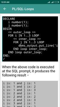 PL/SQL Learning screenshot 5