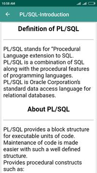PL/SQL Learning screenshot 2