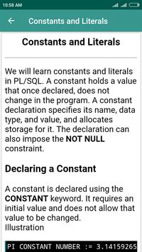 PL/SQL Learning screenshot 3