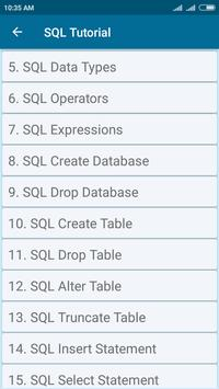 SQL and PL/SQL Tutorial screenshot 1