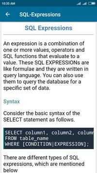 SQL and PL/SQL Tutorial screenshot 3