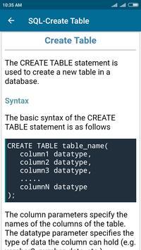 SQL and PL/SQL Tutorial screenshot 4