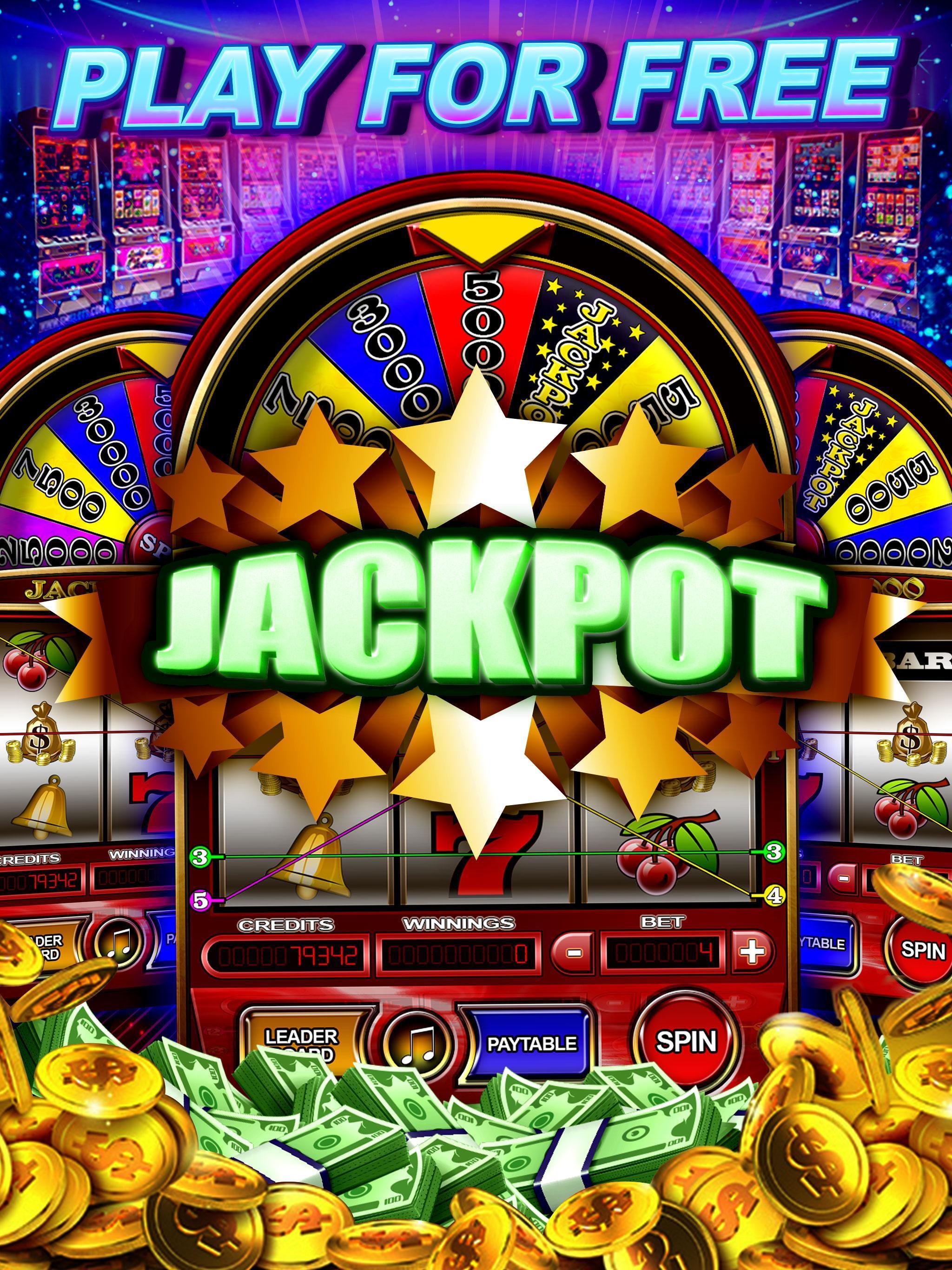 Money Wheel Slot Machine Game poster