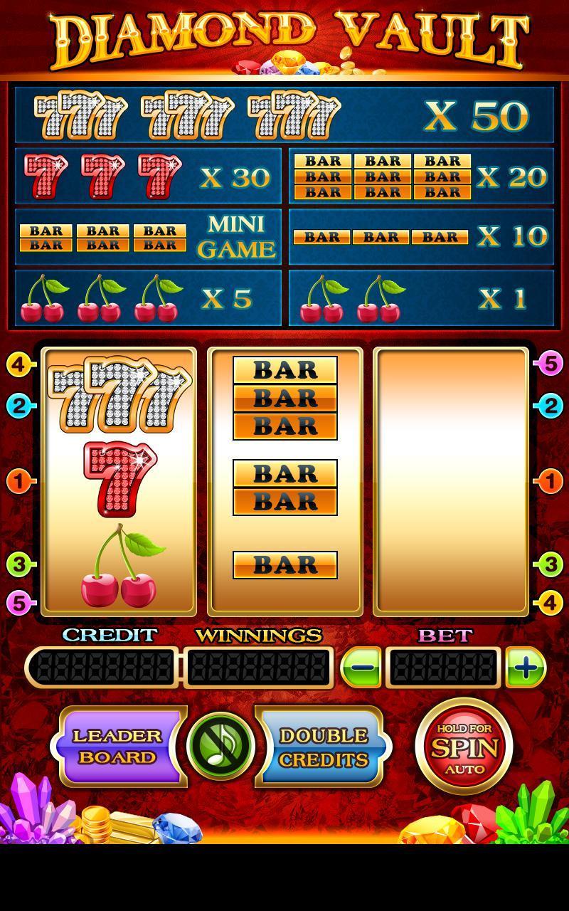 Diamond Vault Slots - Vegas poster