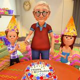 Grandpa Surprise Birthday Party Simulator