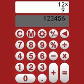 Colorful calculator icon