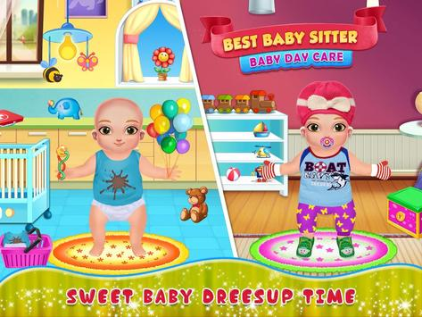 Best Baby Sitter Activity - New Born Baby DayCare poster