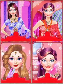 Indian Doll Fashion Salon poster