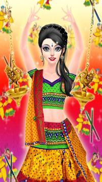 Navratri Fashion Salon - Makeover and Dressup Game screenshot 9
