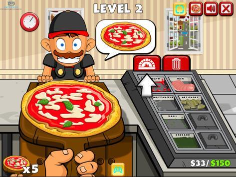 pizza party buffet - cooking games for girls/kids تصوير الشاشة 5