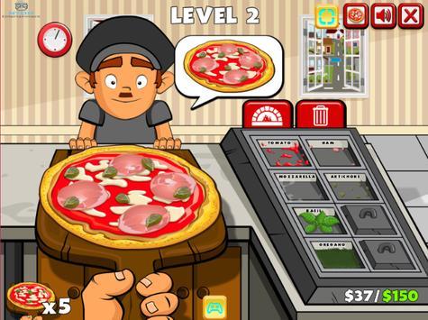 pizza party buffet - cooking games for girls/kids تصوير الشاشة 6