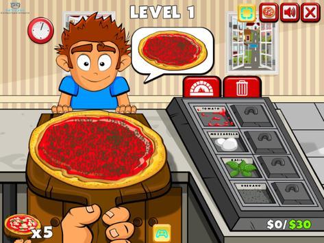 pizza party buffet - cooking games for girls/kids تصوير الشاشة 8