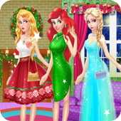 Princess Elsas Party - Dress up games for girls icon