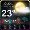 Dokładna pogoda - prognoza pogody na żywo ikona