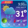 ikon Prakiraan Cuaca & Widget Jam