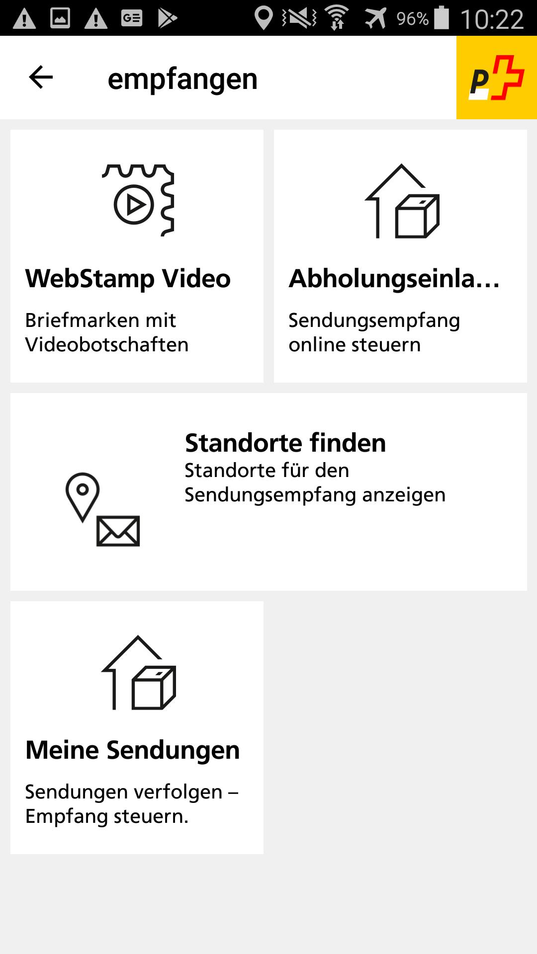 App Der Schweizerischen Post For Android Apk Download