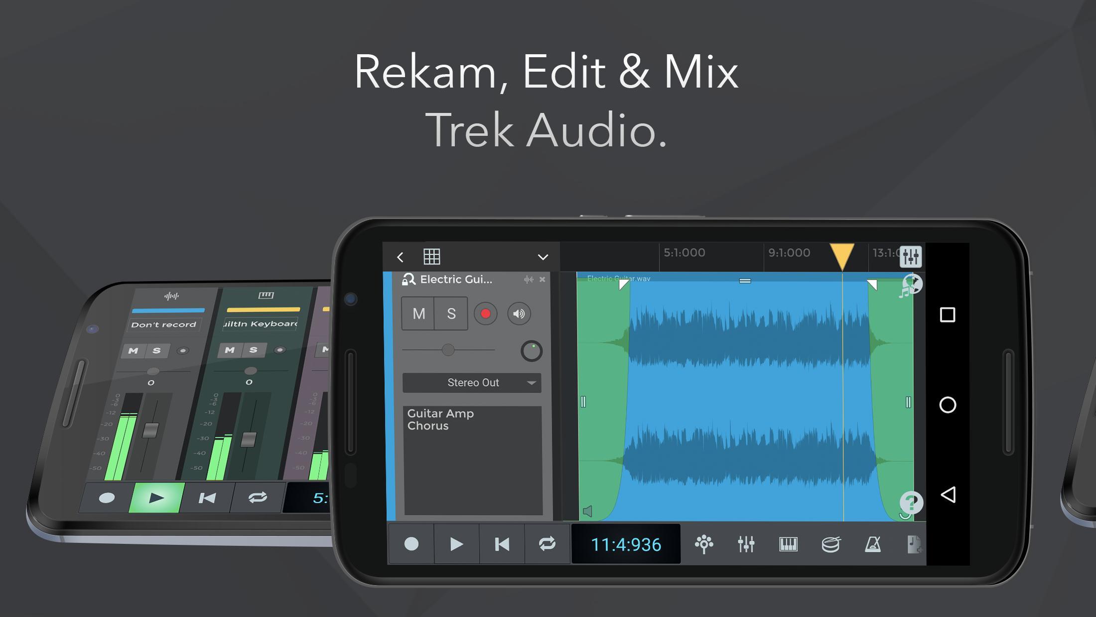N Track Studio Rekam Audio Drum Pembuat Beat For Android Apk Download