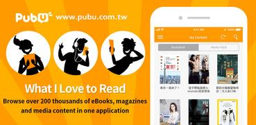 Pubu – eBooks and Videos Anytime