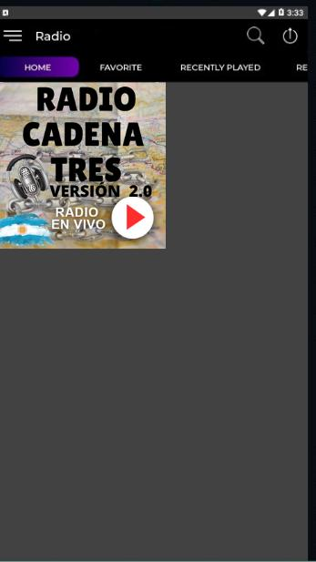 Radio Cadena 3 En Vivo Argentina For Android Apk Download