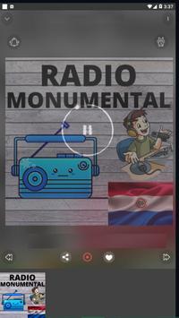 Radio Monumental Paraguay screenshot 1