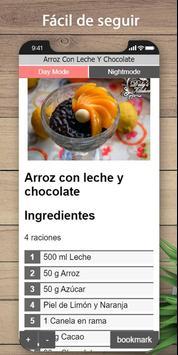 Las mejores recetas de arroz para leche screenshot 3