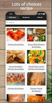 Delicious Chicken Enchilada Recipe poster