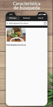 Las mejores recetas de pollo y arroz screenshot 1