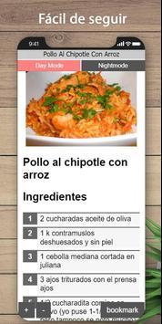 Las mejores recetas de pollo y arroz screenshot 3