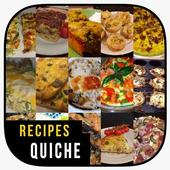 Easy and delicious quiche recipes icon