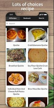 Easy and delicious quiche recipes poster
