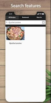 Easy and delicious quiche recipes screenshot 1