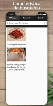 La receta de jamón más deliciosa screenshot 2