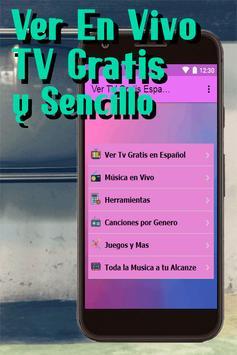 Ver Tv En Vivo Gratis En Español Todo Canales Guia screenshot 1